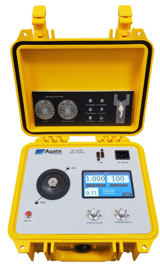 Portable vibration Calibrator