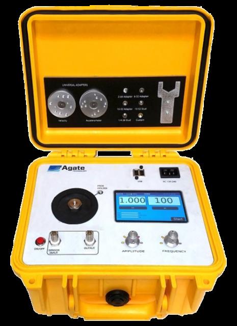 Portable Accelerometer Calibrator