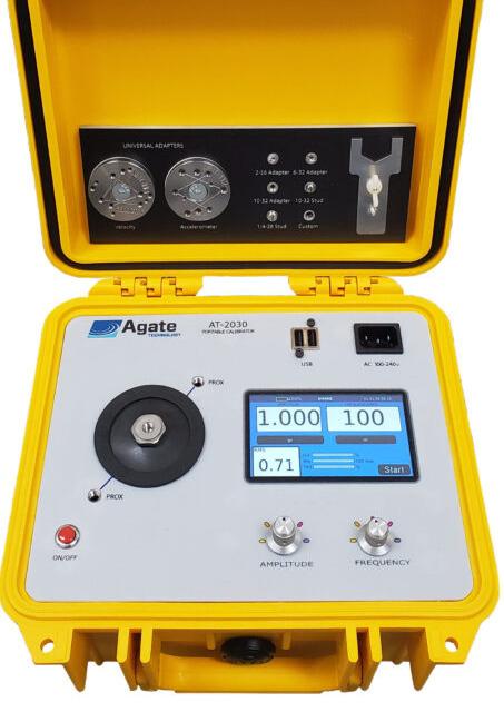 Portable vibration Calibrator shaker table