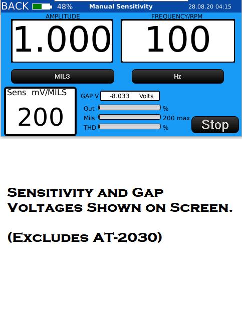 proximity probe calibration